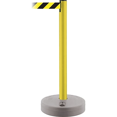 Outdoor TensaBarrier®, SF982, Tube Colour - Yellow