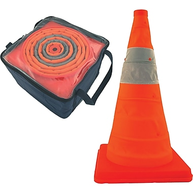 Pack & Pop™ Collapsible Cones, SAR386, 4/Pack