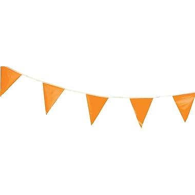 Pennants, NG129, Message - Orange, 12/Pack