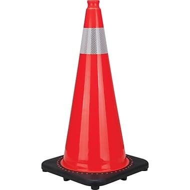 Premium Traffic Cones, SEB826, Wt. lbs. - 7, 4/Pack