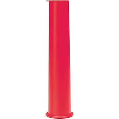 SAFETY GLO WAND 8 (in)LENGTH RED, 12/Pack
