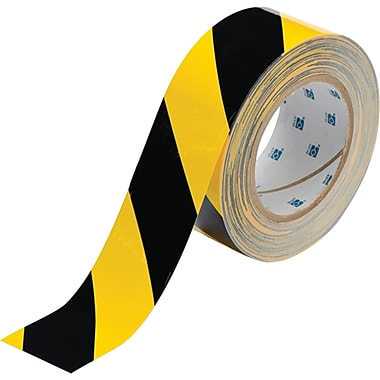 ToughStripe™ Floor Marking Tape, SED035, Length of Roll - 100', 2/Pack