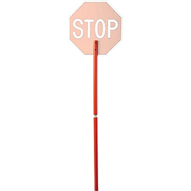 CCI Traffic Control Signs - Plastic Handle, 3/Pack