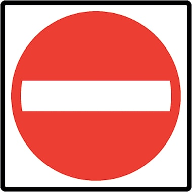 Traffic Regulatory Signs, SEA956, High Intensity - HP