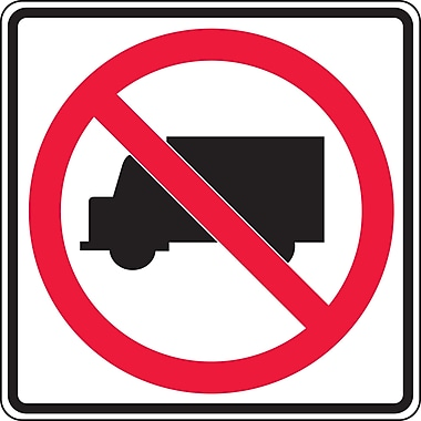 Traffic Regulatory Signs, SEA984, High Intensity - HP