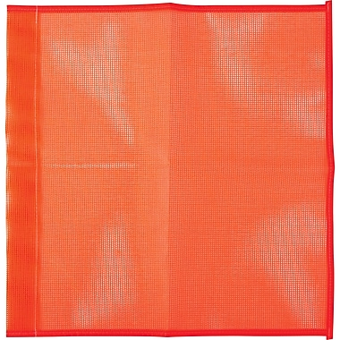 Traffic Safety Flags, SAI342, Mesh Flag, 36/Pack