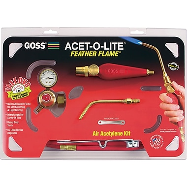 Air-Acetylene Feather Flame® Torch Kits