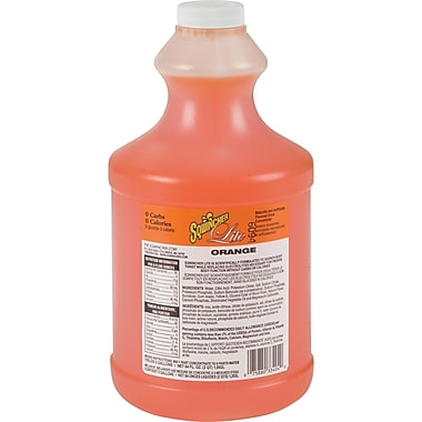 Sqwincher® Liquid Concentrate Lite, SAN536, Orange, 3/Pack