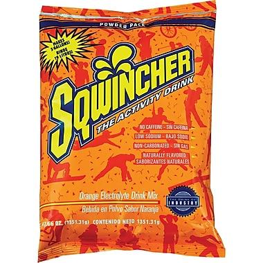 Sqwincher® Powder Pack, SAF871, Orange, 4/Pack