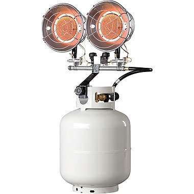 Double Tank-Top Radiant Heaters