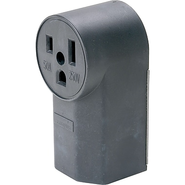 Electrical Plug and Receptacle, 3/Pack
