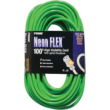 Outdoor Extension Cord High Visibility - Neon Flex® Green