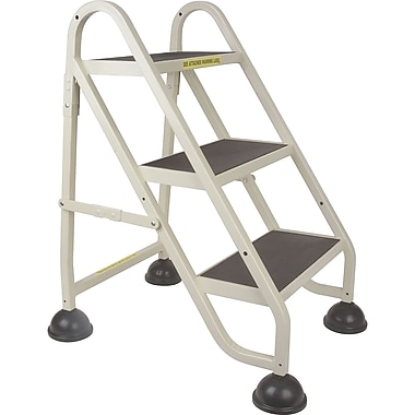 Light-Duty Stop-Step Ladders, MD624, Top Step Height