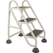 "Light-Duty Stop-Step Ladders, MD624, Top Step Height"" - 27"