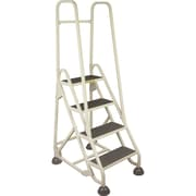 Light-duty Stop-Step Ladders with Double Handrail