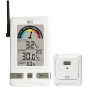 Indoor/Outdoor Wireless Humidex Thermometers, 2/Pack