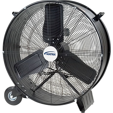 Light Industrial Direct Drive Drum Fans, EA286, Size 28