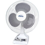 Oscillating Desk Fans with Push Buttons, EA306, 3/Pack
