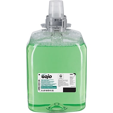 GOJOMD – Savon luxurieux moussant pour corps, mains et cheveux, JA411, 2000 ml, paq./2