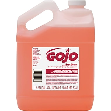 GOJO® Spa Bath® Body & Hair Shampoo, 3/Pack