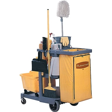 Janitor Carts, JB599, Colour - Blue