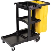 Janitor Carts, JB600, Colour - Black