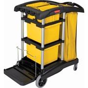 Microfibre Janitor Carts