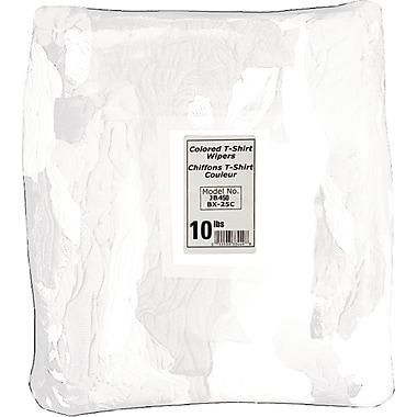 Torchons, JB450, T-shirts blancs, 3/paquet