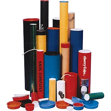 Postal Tubes - Plug-Seal Mailing Packaging Tubes, PC097, Dimensions Dia.