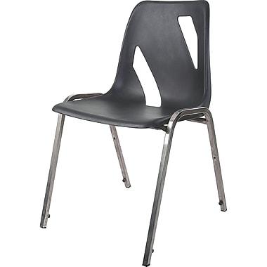 Chaise empilable, noire