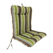 Jordan Manufacturing Wrought Iron Outdoor Dining Chair Cushion