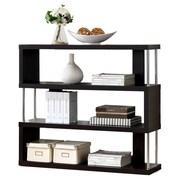 Wholesale Interiors Baxton Studio Javier 3-Tier 38'' Accent Shelves Bookcase