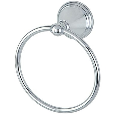 Kingston Brass Governor Wall Mounted Towel Ring; Polished Chrome