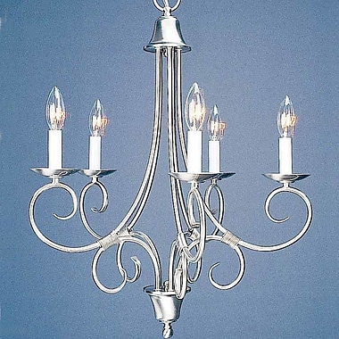 Volume Lighting Rhodes 5-Light Candle-Style Chandelier
