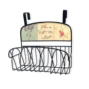 Stupell Industries When in Doubt, Take a Bath Over the Door Organizer