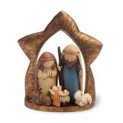 Boston International 6'' Nativity Whimsical Figurine
