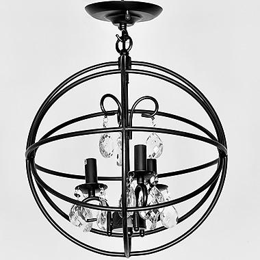 Wellyer Deimos 3-Light Globe Pendant