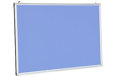 NeoPlex Aluminum Framed Wall Mounted Bulletin Board; 2' H x 3' W