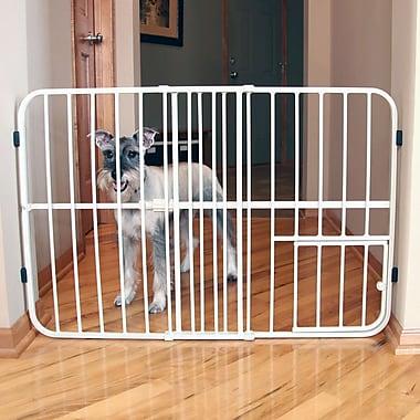 Carlson Pet Expandable Pet Gate; Tuffy (24'' H x 26-42'' W x 1'' D)