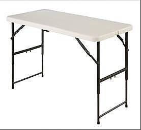 Meco Sudden Solutions 48'' Rectangular Folding Table