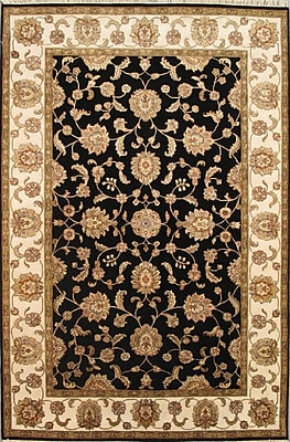 Pasargad Agra Hand-Knotted Area Rug; 6'2'' x 9'3''