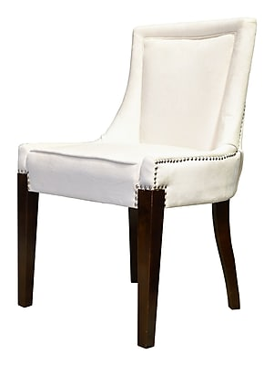 HD Couture Giselle Castalina Side Chair (Set of 2); Cream
