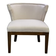 HD Couture Kyra Stallion Side Chair; Ivory