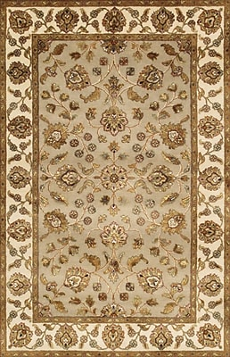 Pasargad Agra Hand-Knotted Area Rug; 4'1'' x 6'