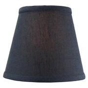 Home Concept 8'' Shantung Empire Lamp Shade; Oatmeal