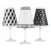 di Potter New York 4.5'' Paper Empire Candelabra Shade (Set of 2); White