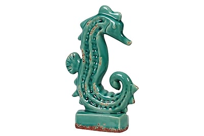 Urban Trends Ceramic Seahorse Figurine, 6.75