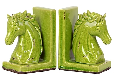 Urban Trends Stoneware Bookend, 6