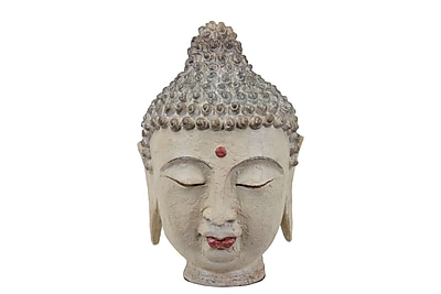 Urban Trends Resin Buddha Head, 9.5