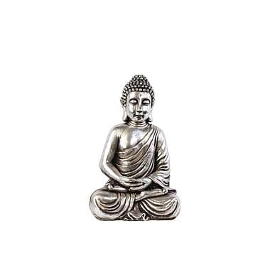 Urban Trends Resin Meditating Buddha Figurine, 16